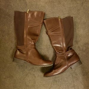 LIKE NEW wide calf 11W Lane Bryant Riding Boot